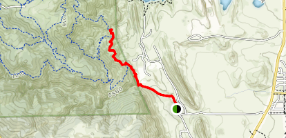 Belcher Hill and Whippletree Trail Map