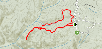 Outlook Ridge and Lost Pond Loop Trail Map