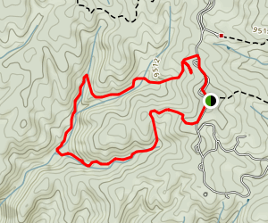 School Pond and Preachers Hollow Loop Trail Map