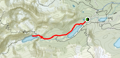 Lake Isabelle Trail Map