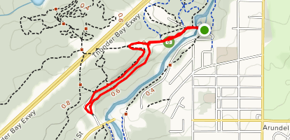 The Bluffs Loop Map
