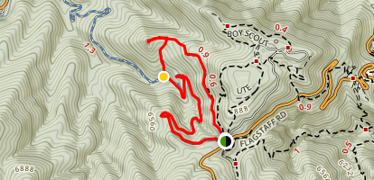 Chapman Road and Tenderfoot Trail Map