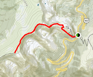 Berthoud Pass Trail Map