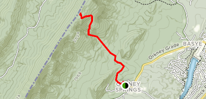 North Mountain Map