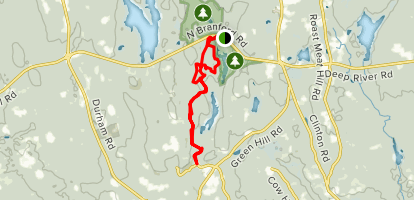 Upper and Lower Chatfield Trail Map
