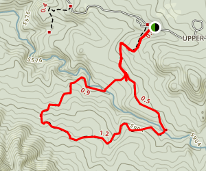 Forest Road 74A Loop Map