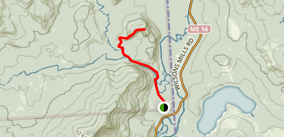 Diamond Peaks Trail Map
