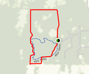 Grant Flatwoods Sanctuary Loop Map
