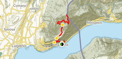 Gandria to Monte Boglia Trail - Ticino, Switzerland | AllTrails