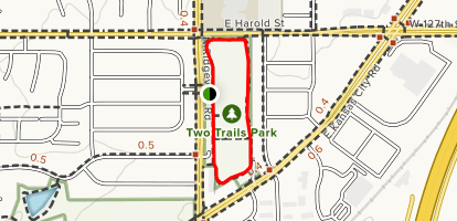 Two Twin Trails Park Loop Map