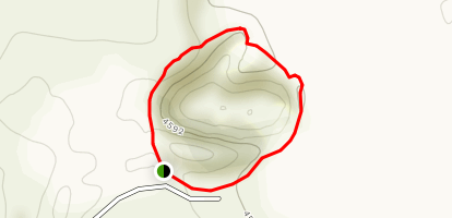 Coffeepot Crater Loop Trail Map