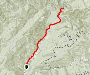 Middle Fork Payette River Trail Map