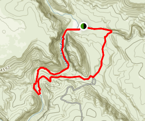 Three Forks Hot Springs Map