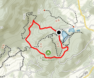 Fire Trail Loop Map