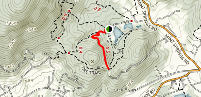 Little Yellow Trail Map