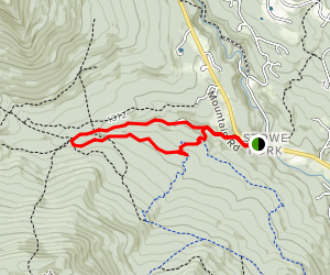 Ranch Valley to Burt Trail and Kimmer's Trail Map