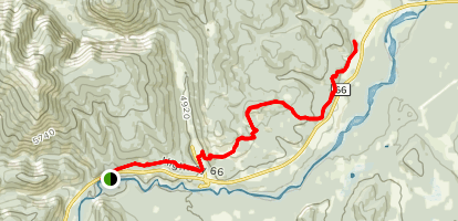 Elbow Valley Trail Map