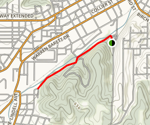 Sodalis Paved Trail Map