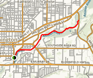 Animas River Trail Map