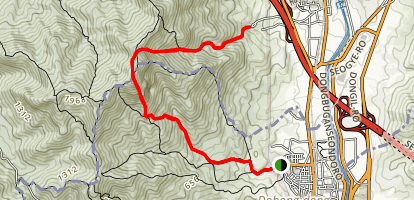 Dobongsan Trail Map