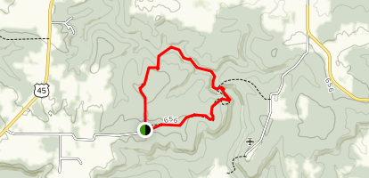 Max Creek Loop Map