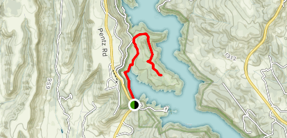 Lime Saddle Memorial Park Trail Map
