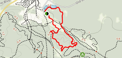 Hanson Hills Overlook Trail Map