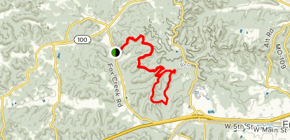 Fox Run Trail to Round House Loop Trail Map