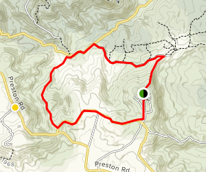 Gormans Gap Loop Map
