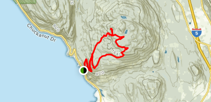 Oyster Dome Loop Map