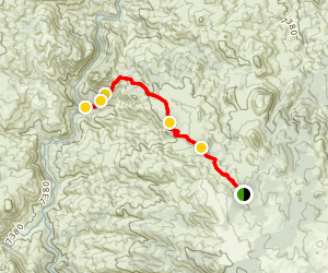 Metberry Gulch 4x4 Road Map