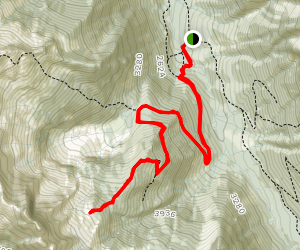 Mount Slesse Memorial Trail Map