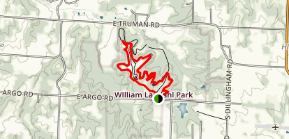 Willis and Family Trail Loop Map