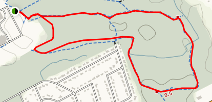 Pinhey Forest Trails Map