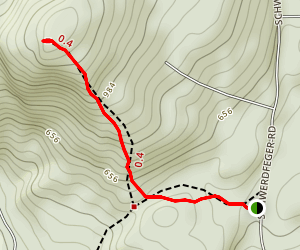 Record Hill Map