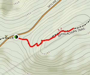 North Marshall Mountain  Map