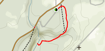 Pearsoney Falls Trail Map