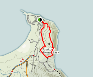 Monument Hill Loop Map