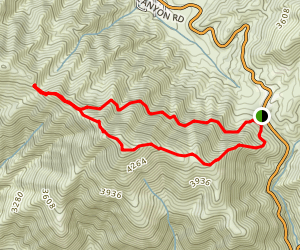 Jupiter Mountain Loop Map