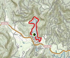 Fairfield Lake Loop Map