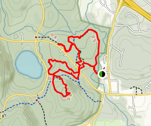 Snowshoe Trails 60 and 61 Loop Map