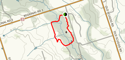Bowmanville Creek Loop Map
