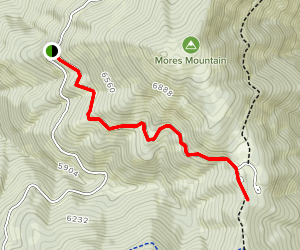 Shafer Butte Extension Winter Trail Map