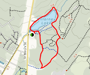 Killarney Lake Trail Map