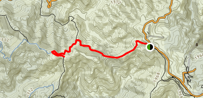 Northbrook Mountain Map