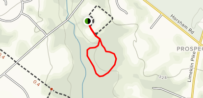 Cedar Hill Trail Loop Map