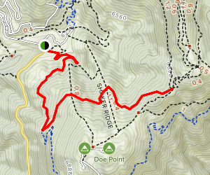 Deer Point Trail Map