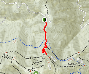 Shafer Butte Campground Trail Map