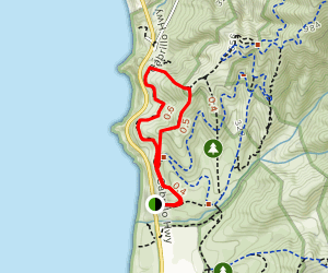 Gray Whale Cove Trail Loop Map