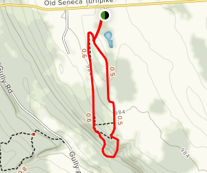 Scout Field and Back Loop Trail Map